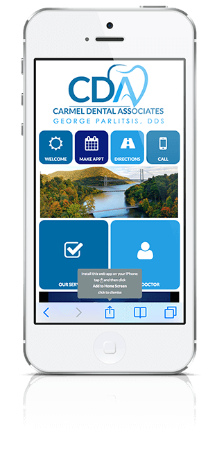 Carmel Dental Associates Mobile App